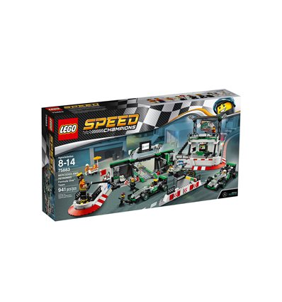 LEGO® Speed Champions - 75883 - MERCEDES AMG PETRONAS Formula One™ Team