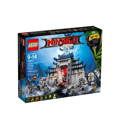 LEGO® The LEGO Ninjago Movie - 70617 - Ultimativ ultimatives Tempel-Versteck