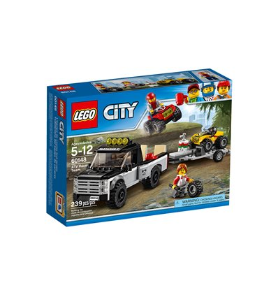 LEGO® City - 60148 - Quad-Rennteam