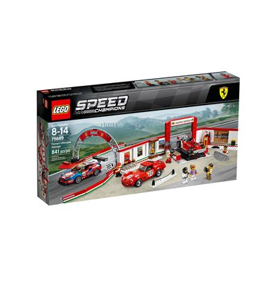 LEGO® Speed Champions - 75889 - Ferrari Ultimative Garage