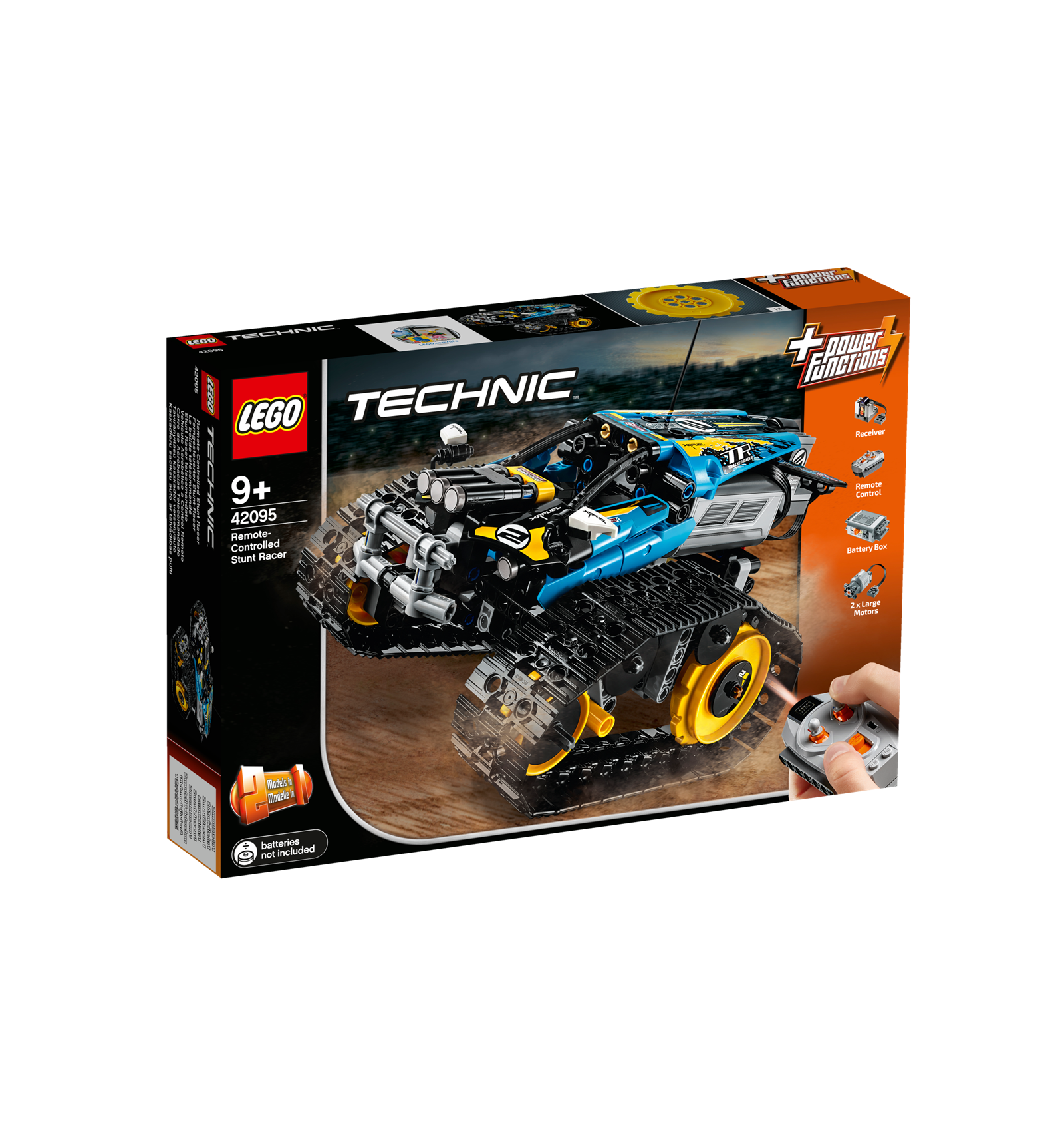 lego technic 42095 ferngesteuerter stunt racer. Black Bedroom Furniture Sets. Home Design Ideas