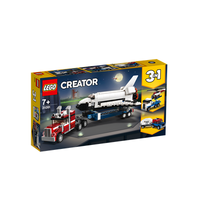 LEGO® Creator - 31091 - Transporter für Space Shuttle