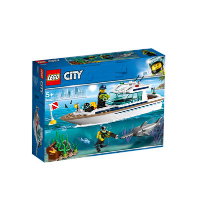 LEGO® City Great Vehicles - 60221 - Tauchyacht