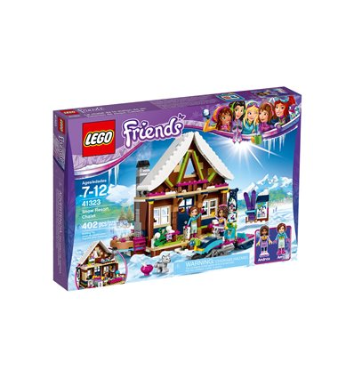LEGO® Friends - 41323 - Chalet im Wintersportort