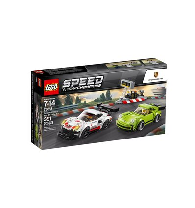 LEGO® Speed Champions - 75888 - Porsche 911 RSR und 911 Turbo 3.0