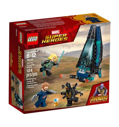 LEGO® Marvel Super Heroes - 76101 - Outrider Dropship-Attacke