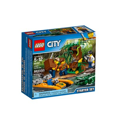 LEGO® City - 60157 - Dschungel-Starter-Set
