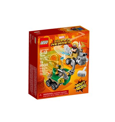 LEGO® Marvel Super Heroes - 76091 - Mighty Micros: Thor vs. Loki