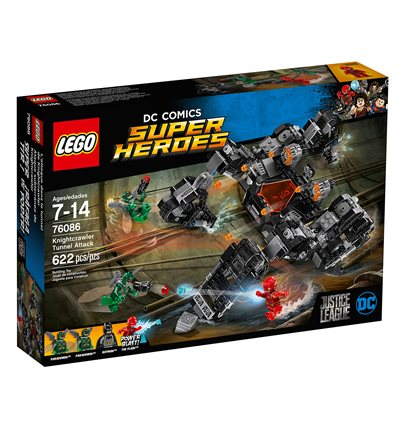 LEGO® DC Comics Super Heroes - 76086 - Knightcrawlers Tunnel-Attacke