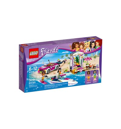 LEGO® Friends - 41316 - Andreas Rennboot-Transporter