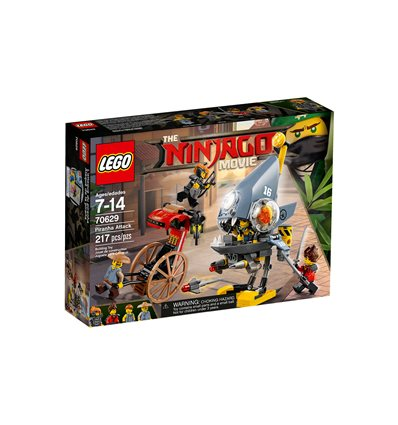 LEGO® The LEGO Ninjago Movie - 70629 - Piranha-Angriff