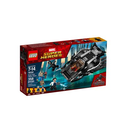 LEGO® Marvel Super Heroes - 76100 - Royal Talon Attacke