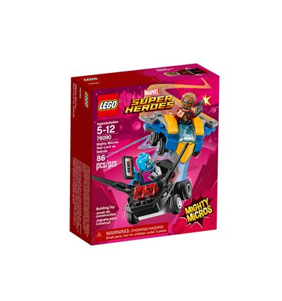 LEGO® Marvel Super Heroes - 76090 - Mighty Micros: Star-Lord vs. Nebula