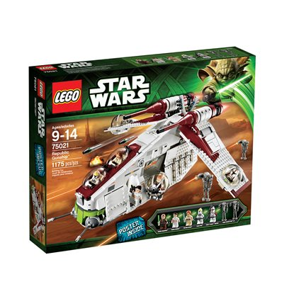LEGO® Star Wars™ - 75021 - Republic Gunship™
