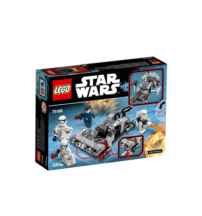 LEGO Star Wars - 75166 - First Order Transport Speeder Battle Pack