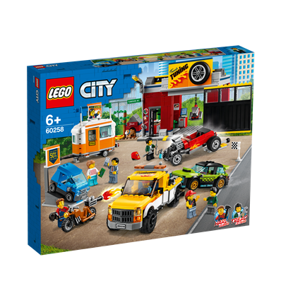 LEGO® City Nitro Wheels - 60258 - Tuning-Werkstatt