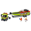 LEGO® City Great Vehicles - 60254 - Rennboot-Transporter